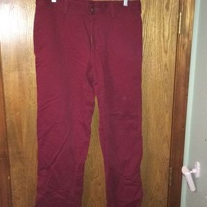 Other - Red Men's pants size 32 x 30